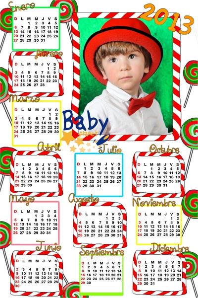 calendarios guarderias fotografos