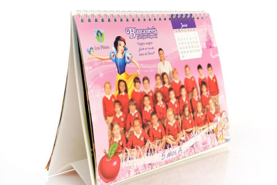 calendario 12 meses personalizado