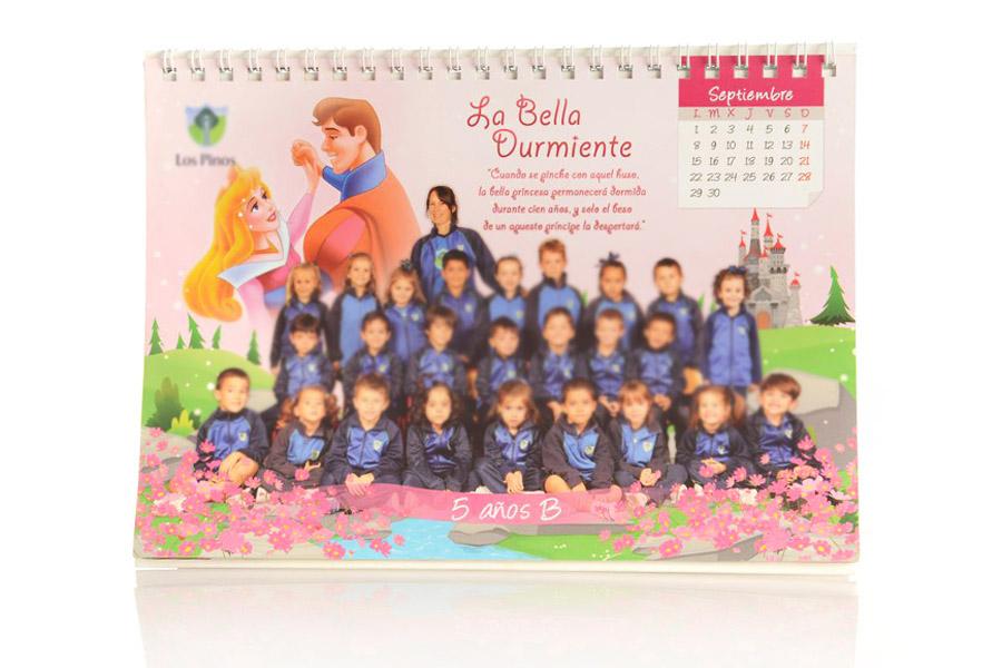 calendario cuentos escolares