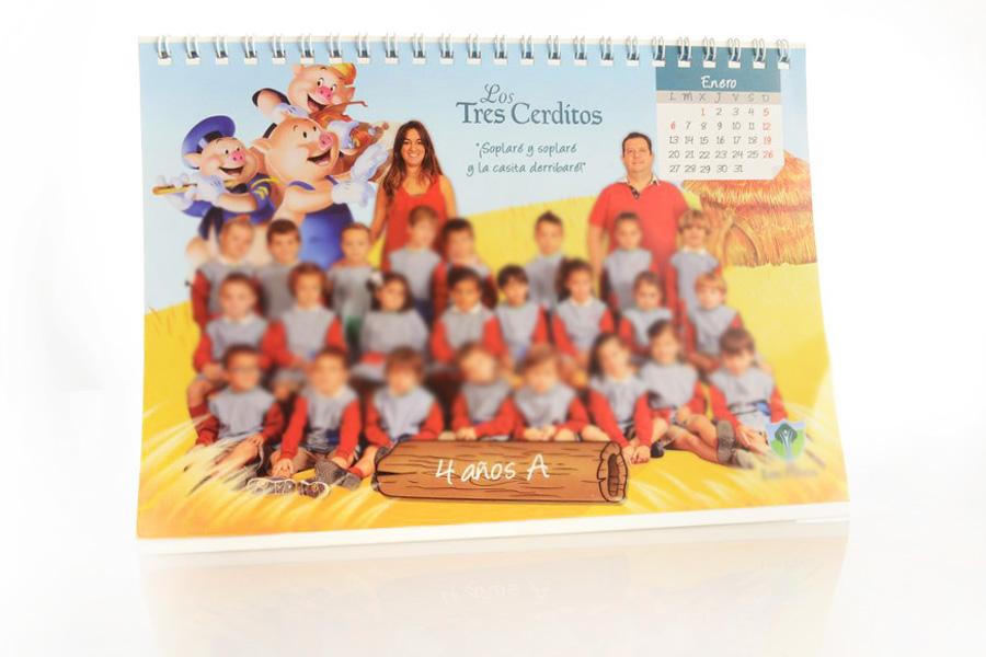 fotografos calendario escolar malaga