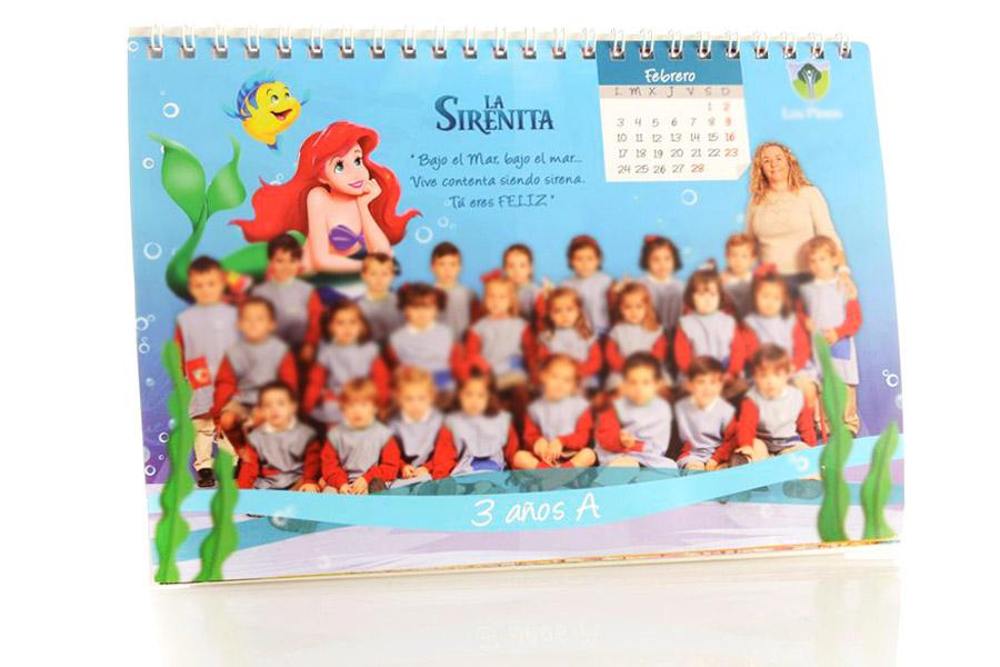 fotografos calendario infantil