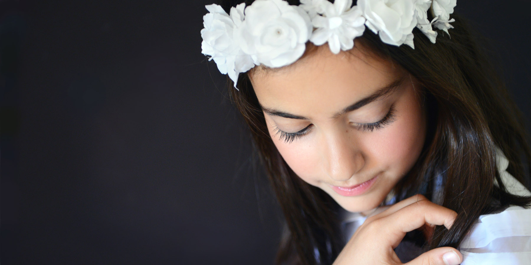 artistic photos first communion marbella